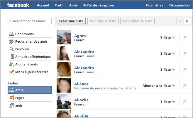 Rencontre d'amis sur facebook